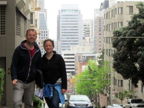 Wir stratzen durch San Francisco