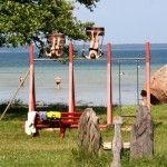 Sommer, Sonne, Strand und Schaukeln